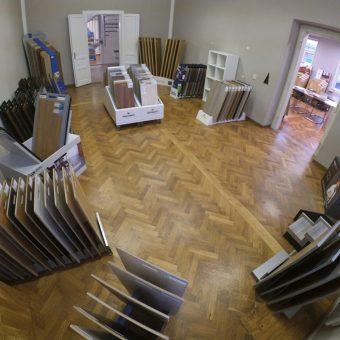 Vzorkovna podlahy Praha fotografie 3