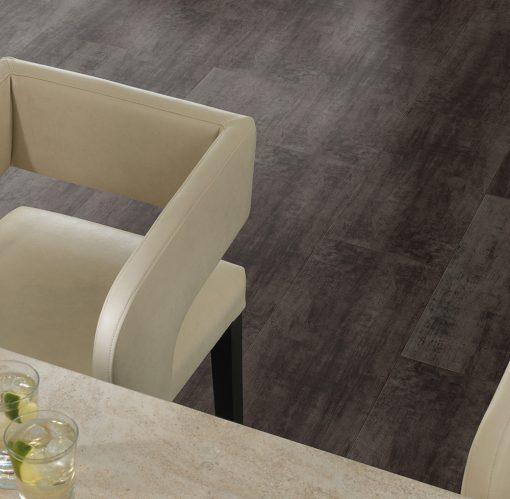 vinylova podlaha lepena Amtico First SF3A2804 Steel v interieru