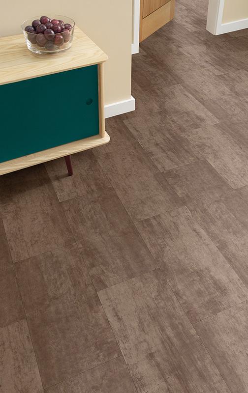 vinylova podlaha lepena Amtico First SF3A4805 Bronze v interieru