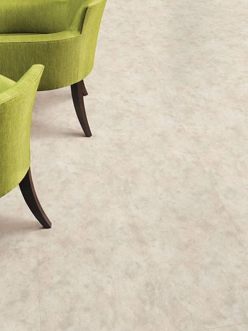 vinylova podlaha lepena Amtico First SF3S1561 Limestone Cool v interiéru