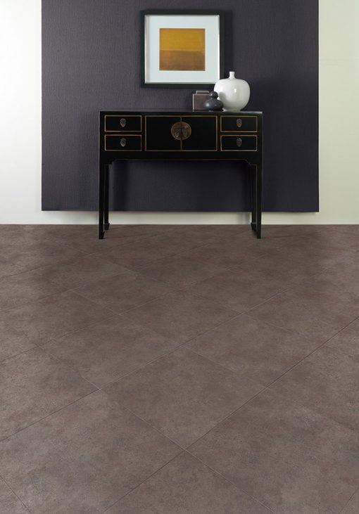 vinylova podlaha lepena Amtico First SF3S3593 Ceramic Sable v interiéru