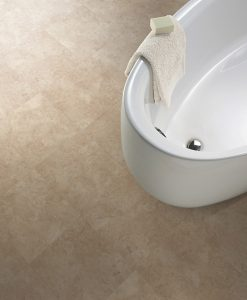 vinylova podlaha lepena Amtico First SF3S4599 Bottocino Cream v interiéru