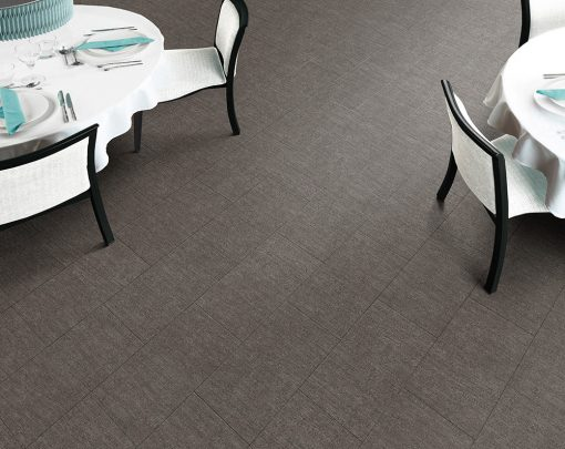 vinylova podlaha lepena Amtico First SF3S6123 Sift Stone Clay v interiéru