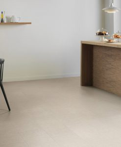 vinylova podlaha lepena Amtico First SF3S6133 Sift Stone Canvas v interiéru