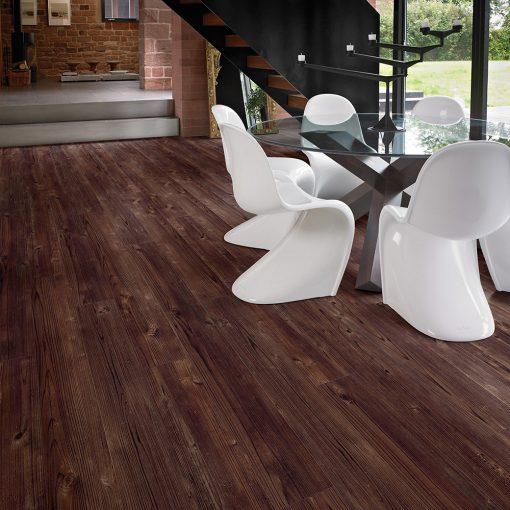 vinylova podlaha lepena Amtico First SF3W2493 Aged Cedar Wood v interiéru