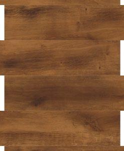 vinylova podlaha lepena Designflooring Van Gogh VGW70 Smoked Oak