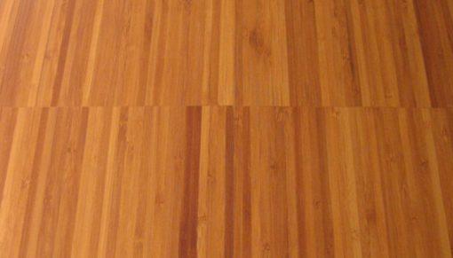 Bambusová podlaha v odstínu kávy.