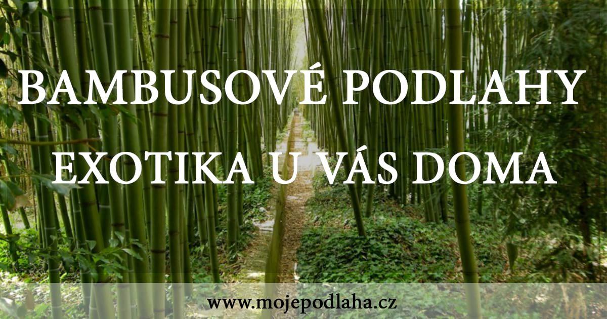 bambusove podlahy