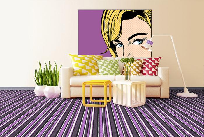 koberec Coloro Full Art 6380 interier