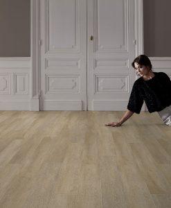vinylova podlaha lepena Gerflor Creation 30 Honey Oak GERC30 0441 v interieru