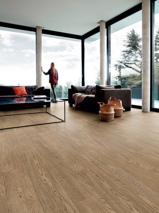 vinylova podlaha lepena Gerflor Creation 30 Royal Oak Gold GERC30 0739 v interieru