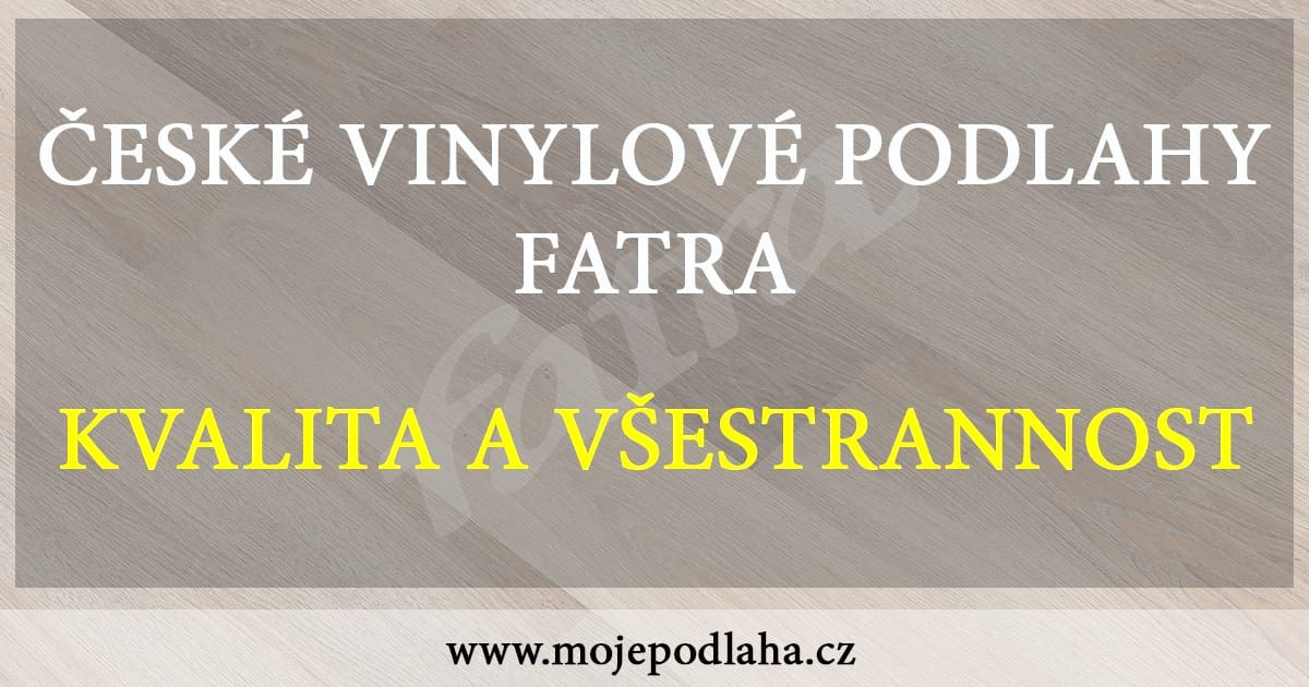 vinylove podlahy fatra clanek