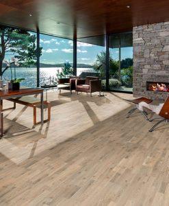 drevena podlaha trivrstva Kahrs Original Gotaland Collection Dub Kilesand v interieru