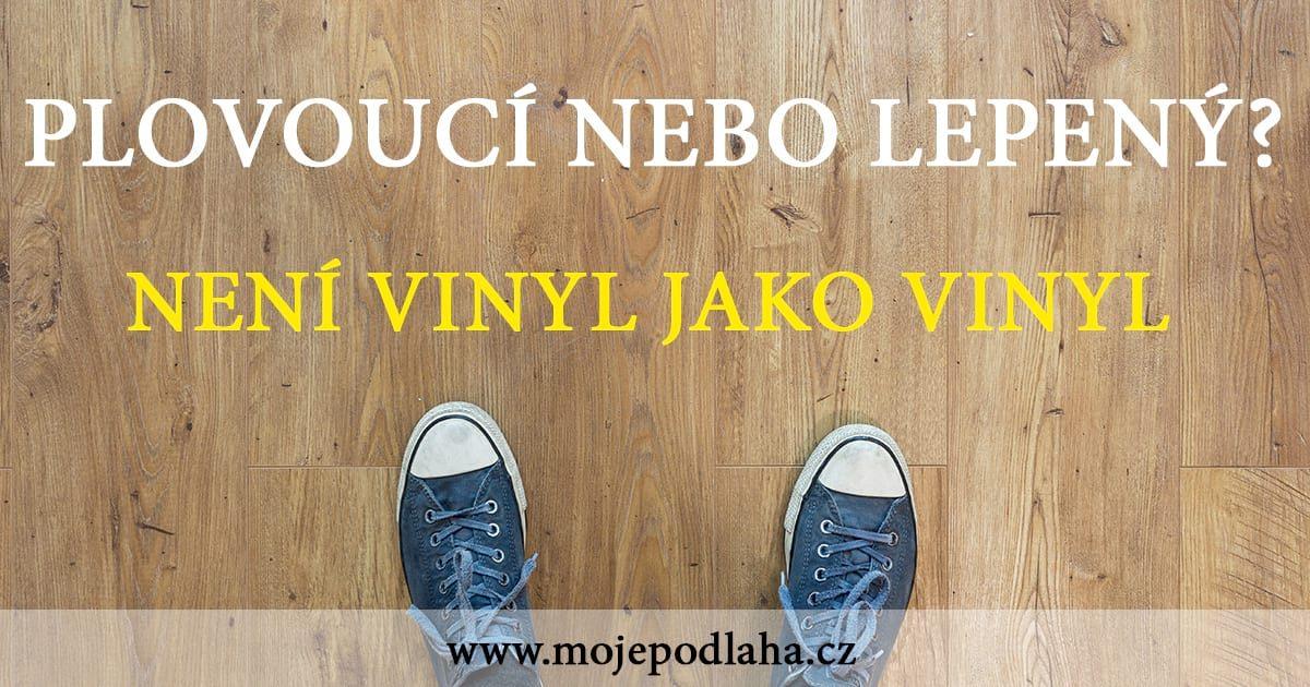 plovouci vinyl lepeny vinyl