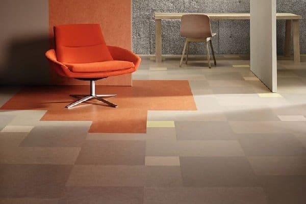Podlaha z marmolea.