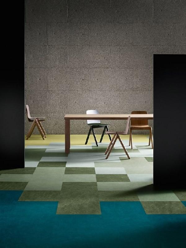Přírodní linoleum – marmoleum Modular Forbo.