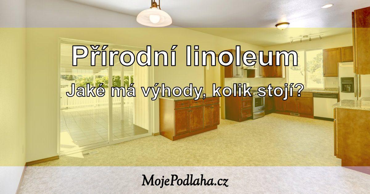 Přírodní linoleum.