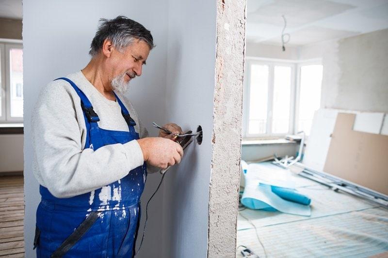 Rekonstrukce bytu v panelovém domě.