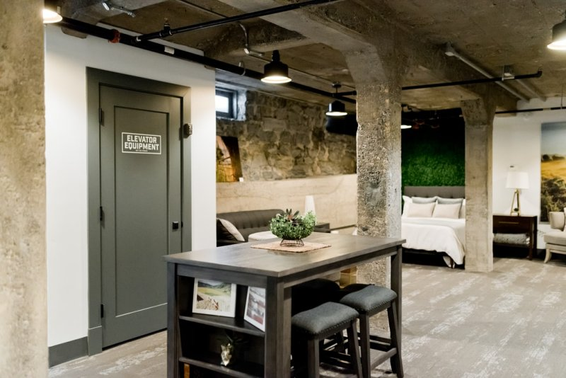 Jednoduchost industriálního stylu bydlení.