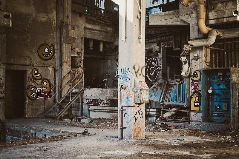 Stará továrna –tady se bude dobře bydlet.