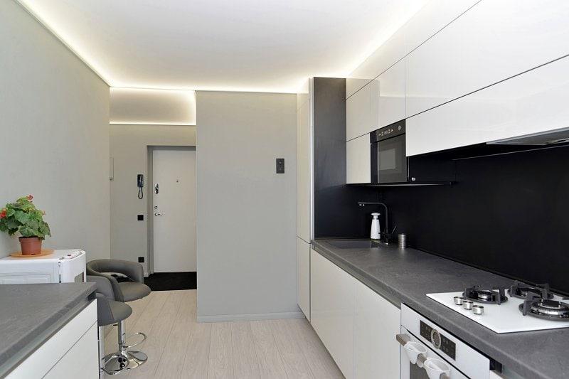 Skryté LED osvětlení interiéru.