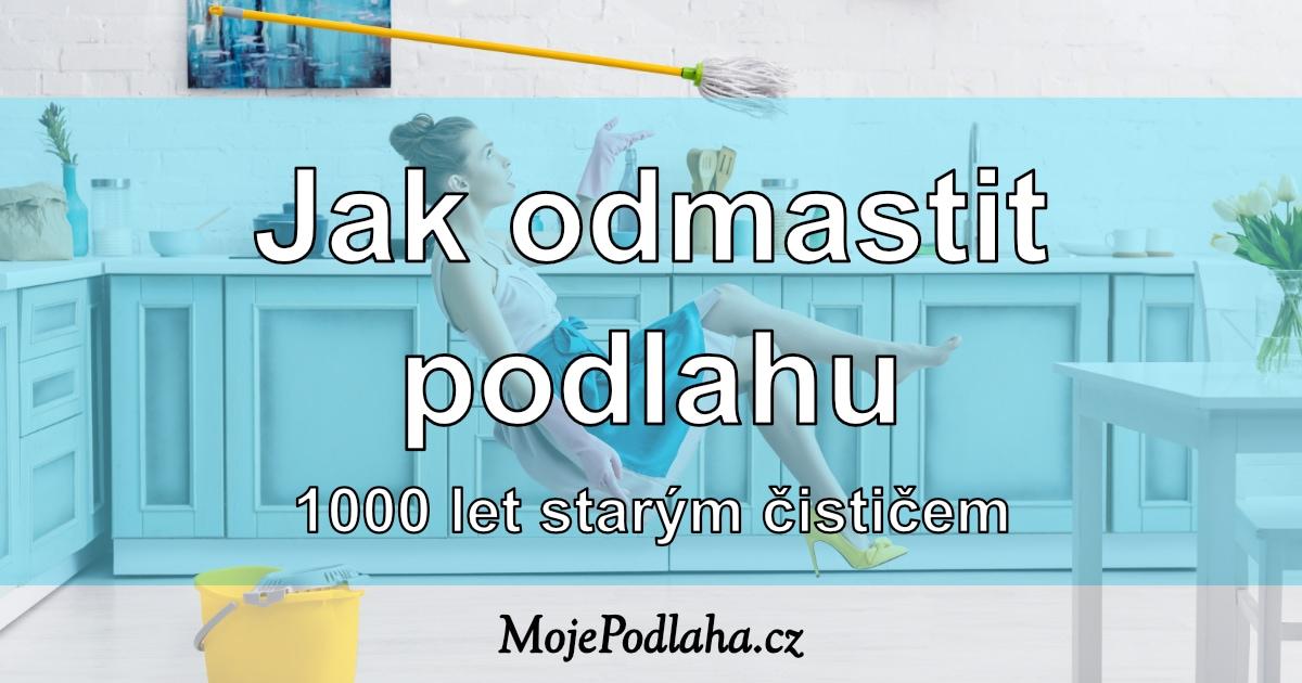Jak odmastit podlahu v kuchyni i koupelně i bez agresivní chemie? Pomůže 1000 let starý prostředek – kastilské mýdlo.